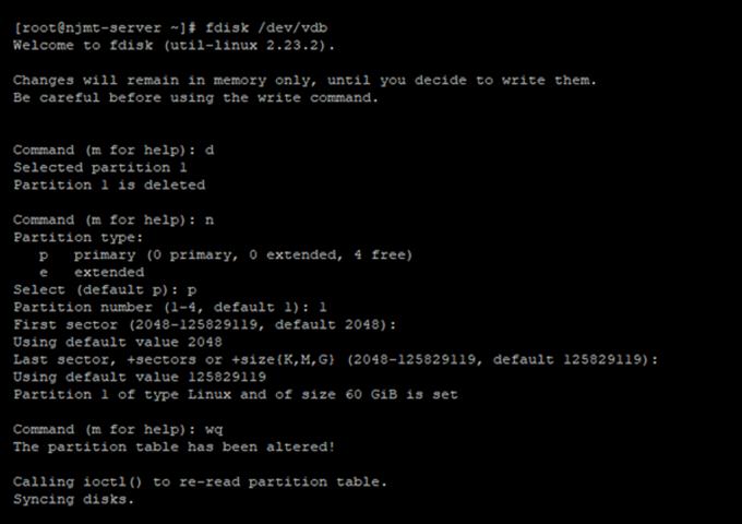 帝国cms使用Linux系统数据盘扩容后宝塔控制面板数据盘大小不变的解决方法