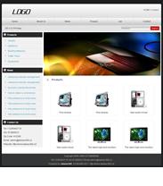 帝国cms外贸英文企业网站模板
